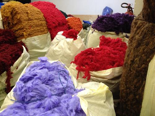 Iceland, dyed fleece, Istex, Mosfellsbaer