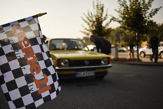 Opel bei der 13. Creme21 Youngtimer Rallye