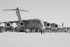 airline, aviation, airliner, airplane, vehicle, cargo aircraft, military transport aircraft, boeing c-17 globemaster iii, jet aircraft, aircraft engine, air force,