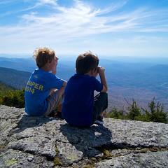"""""""I spy... everything."""" #groms #summit #hike #deepthoughts #mondaymorninginspiration"""