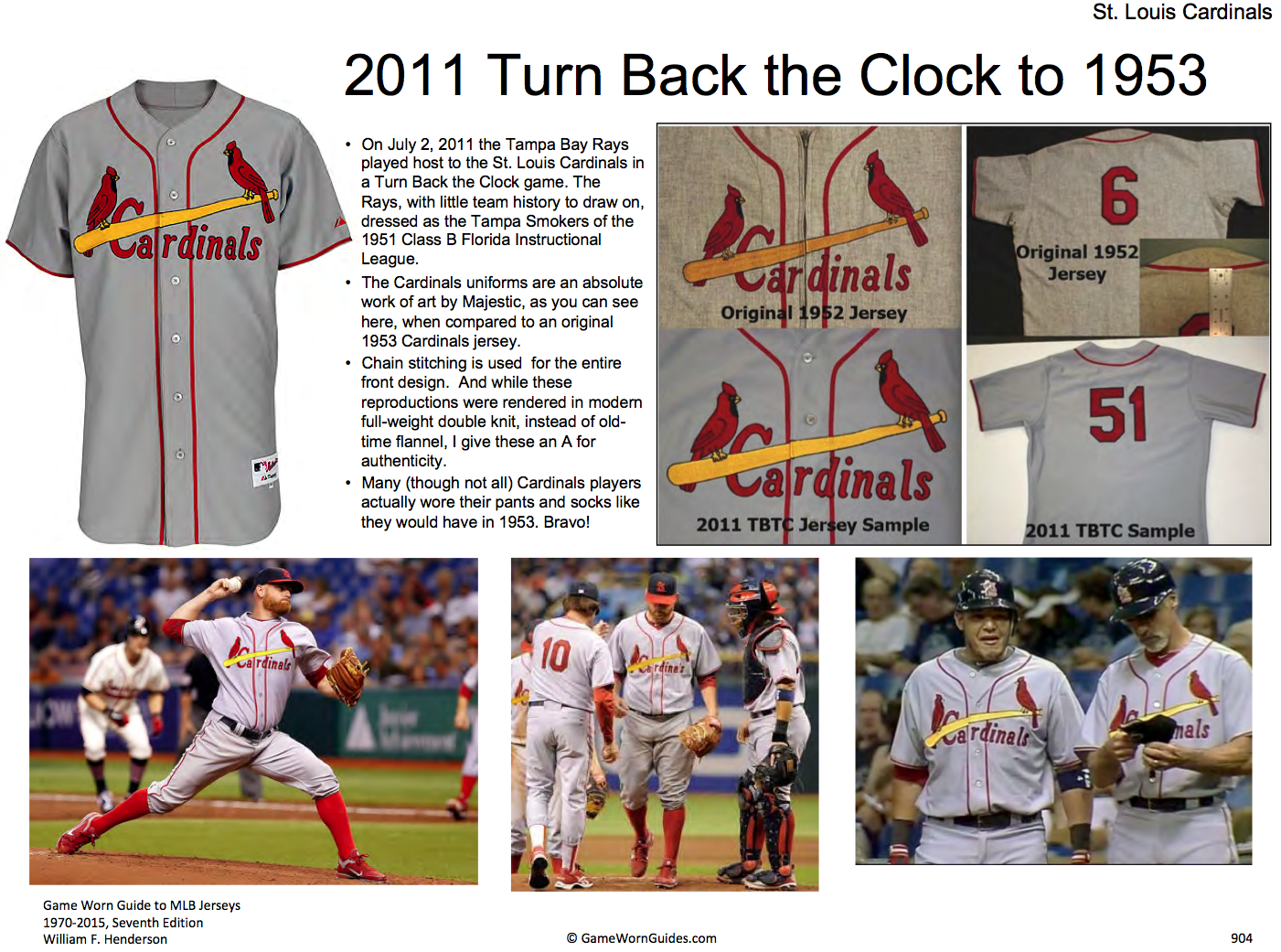 c9f1b3eb57f Last year the Cards wore 1929 throwbacks featuring a seldom-seen tailoring  format  a four-button henley pullover. Very nice cap