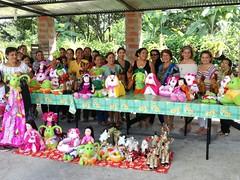 Municipalidad clausuró talleres de manualidades en el Sitio Garrapata de Chone