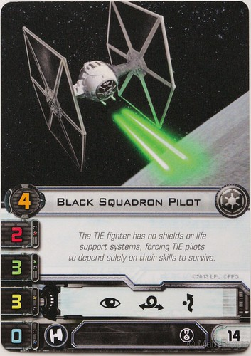 alternate Black squadron pilot card