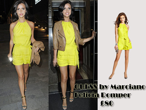 Guess by Marciano Felicia yellow romper: Playsuit Trend
