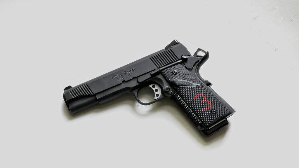 The MEU(SOC) .45, ICQB, and M45 Close Quarters Combat Pistol ...
