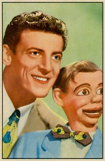 Ventriloquist Paul Winchell with Jerry Mahoney