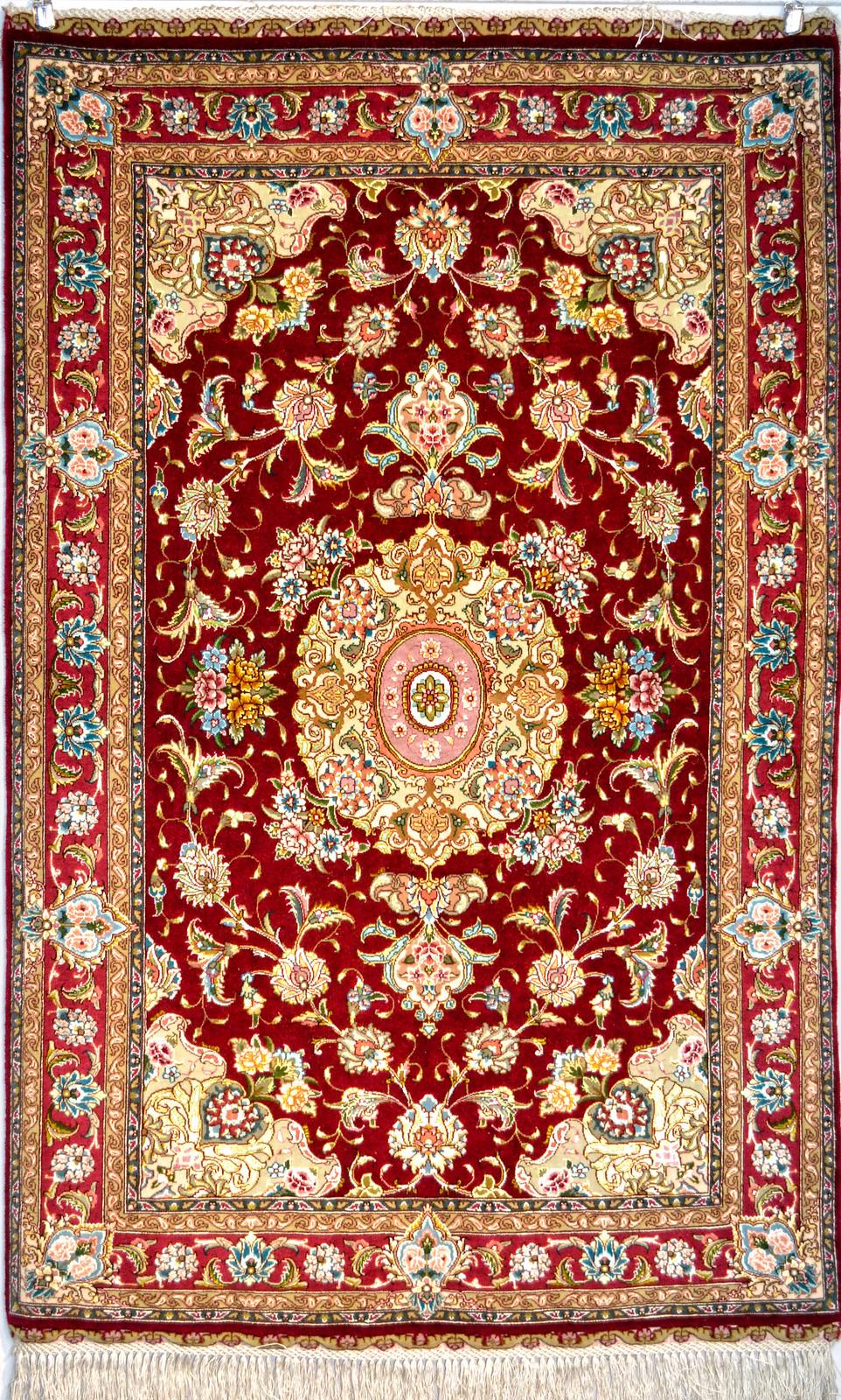 Tabriz Very Fine Salari Pair Zaro Nim - ek72 152 x98