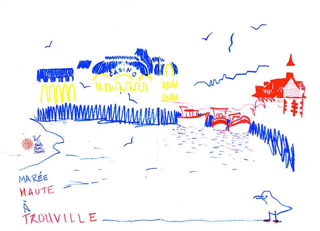 Trouville - Marée Haute