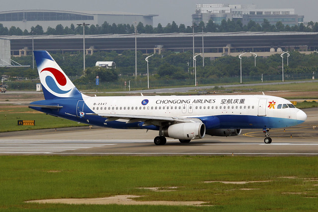 B-2347 | Chongqing Airlines | Airbus A320-233 | CAN