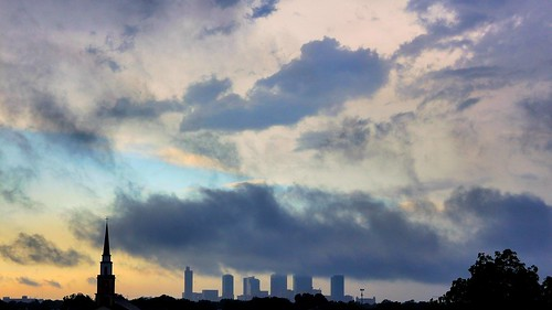 sunset storm day texas skyscrapers fortworth stormclouds sundancesquare startelegram downtownfortworth fortworthskyline josephhaubert