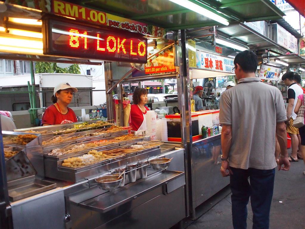 Market at Gurney Drive Penang