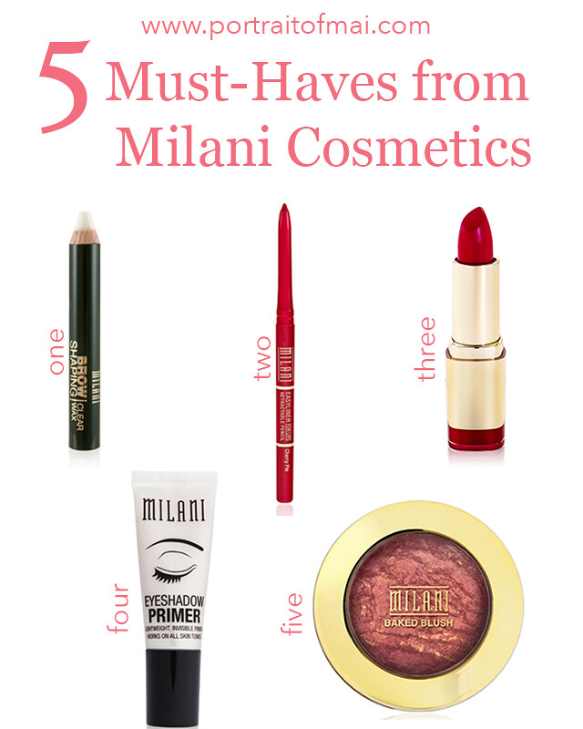 5 must haves from milani