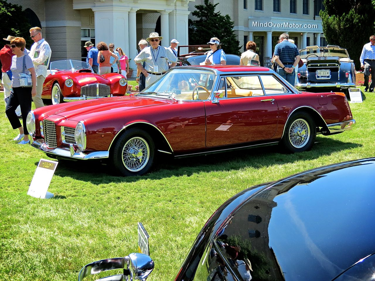 1962 Facel Vega at Hershey