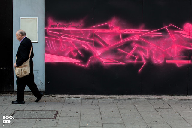 REMI ROUGH & SHOK-1 Collab Mural in South London. Photo ©Hookedblog