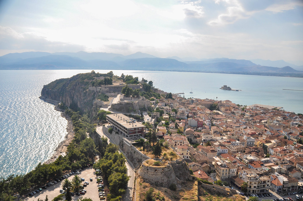 Palamidi Castle, Nafplio, Greece