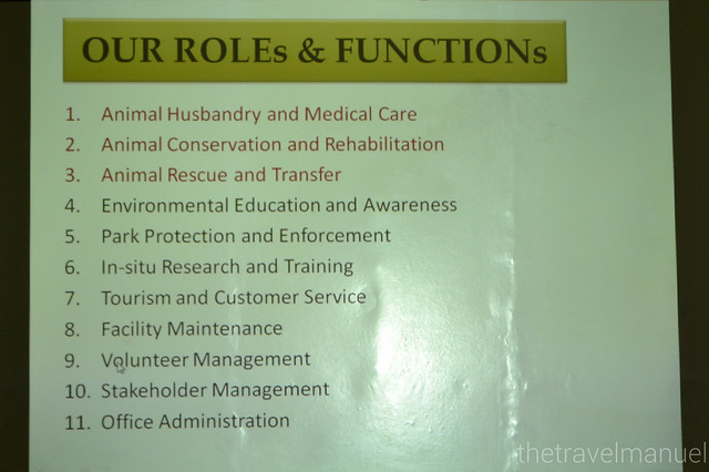 Roles and functions.