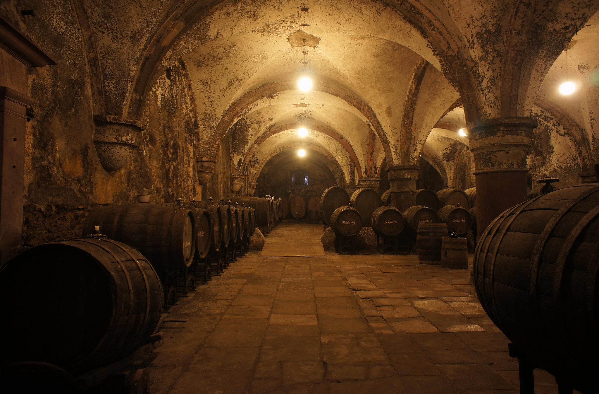 Medieval Wine Cellar In Germany Pics