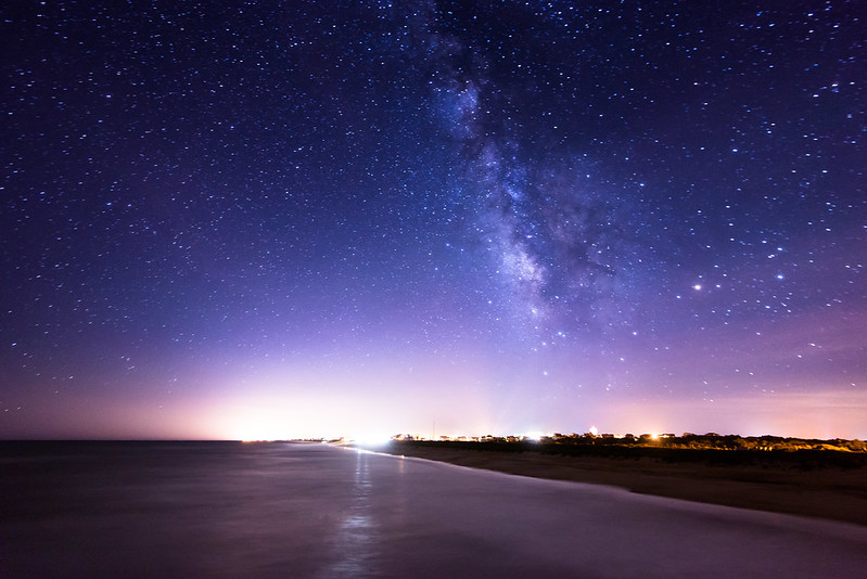 Milky Way over Duck NC