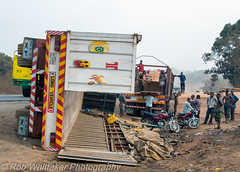 Overturned Truck Nigeria Road Accidents 12