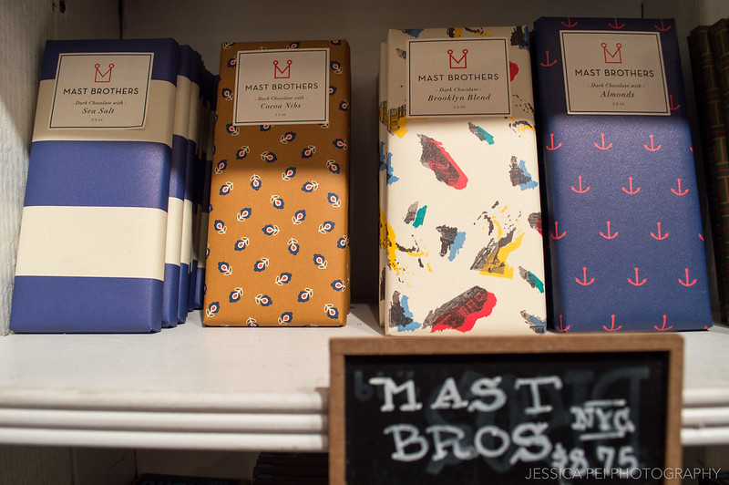 Mast Brothers Chocolate NYC in Williamsburg Brooklyn