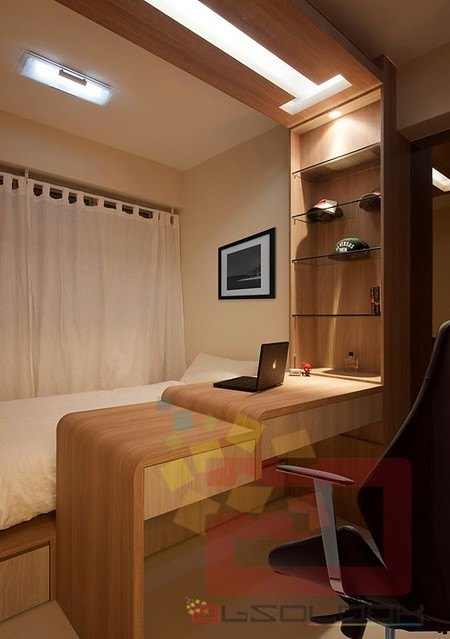 Hdb Two Room Bto 47: HDB BTO 4-Room Woody Essence