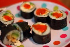 Veggie Sushi 1