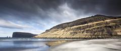 Coastline Tjørnuvík - Streymoy Faroe Islands -