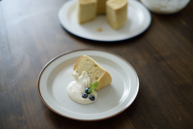 Chiffon cake with raw cane sugar 5