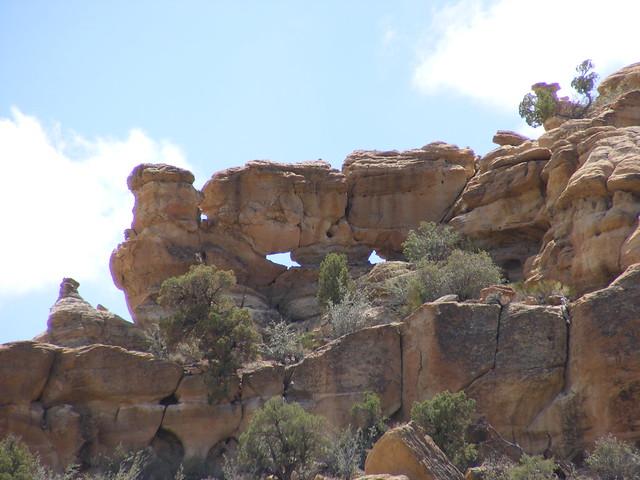 New Mexico Natural Arch NM-431 Ojos de Largo (Eyes of Largo)