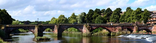 CHESTER OLD BRIDGE AND WEIR