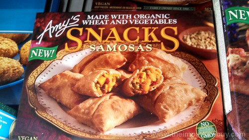 Amy's Snacks Samosas
