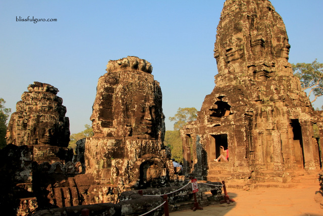 Siem Reap Cambodia Bayon Temple