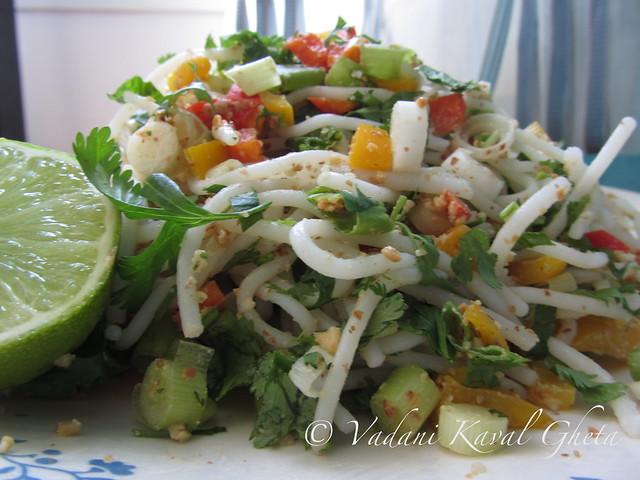Rice Noodles Salad