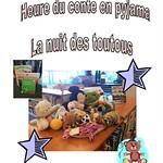 L'heure du conte en pyjama : la nuit des toutous (8 juillet 2013)