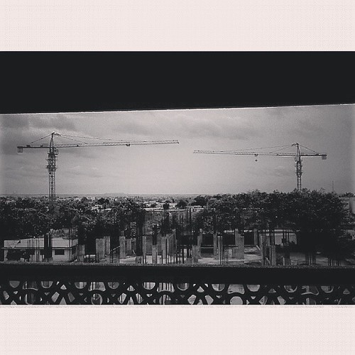 urban bw me monochrome way square landscape construction cityscape crane willow squareformat half meet iphoneography instagramapp uploaded:by=instagram xoloq700s
