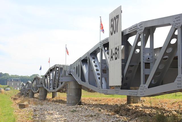 Pont artificiel à Omaha beach