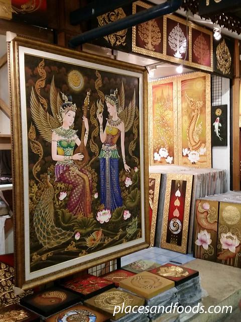 chatuchak market thai art