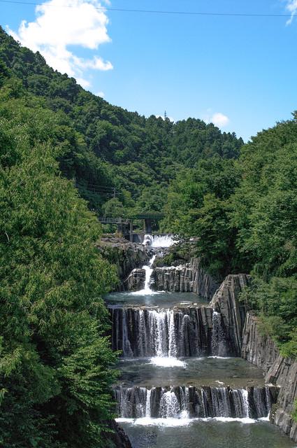 滝の上を走る鉄道 : 富士急行線を初めてシゲシゲと眺めに行った
