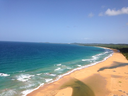 ocean beach water beautiful beauty sand paradise puertorico tropical caribbean luquillopr airbnb sandyhillscondo sandyhillsluquillo