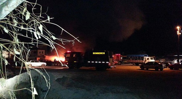Incêndio na Seminfra