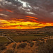 Sunset Over Little Butte by http://fineartamerica.com/profiles/robert-bales.ht