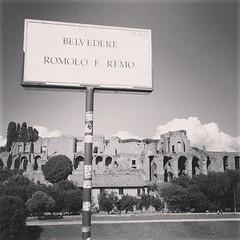 Vista sul Palatino #roma