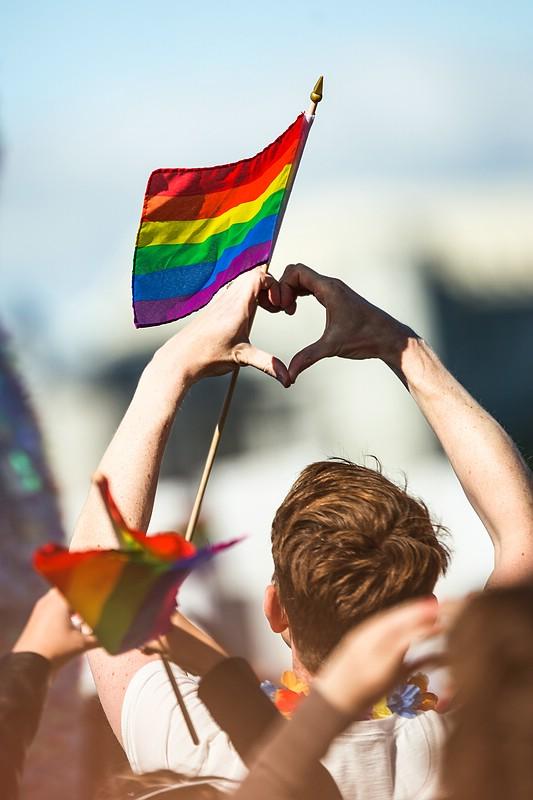 Love at Reykjavik Pride Parade
