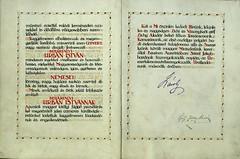 025. Behárfalvi Urbán István nemességadományozása