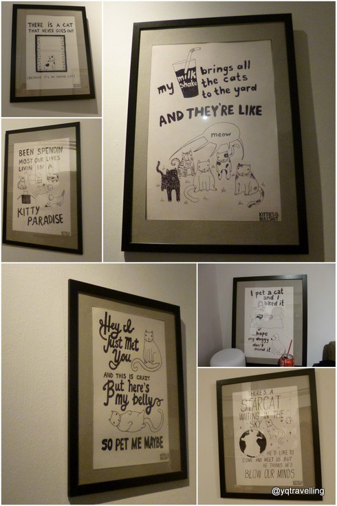 Posters at The Company of Cats