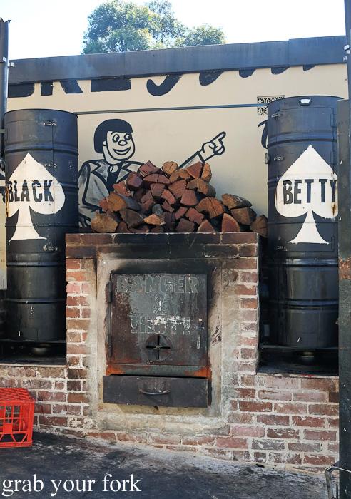Black Betty smoker at the Oxford Tavern, Petersham