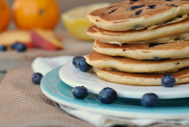 Lemon Blueberry Pancakes 2
