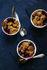 Crumble fruits rouges et speculoos