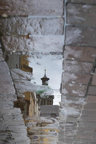 reflection landscape austria tyrol innsbruck