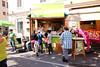 Hot Greens vor der Bäckerei Sorger in Eggenberg